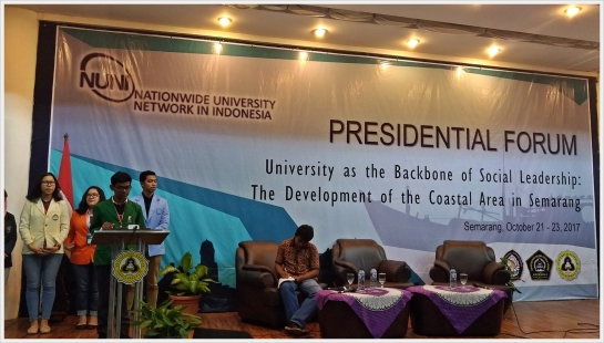 UNAND Hadiri NUNI Presidential Forum, Annual Meeting and The 1st NUNI Student Camp di Semarang