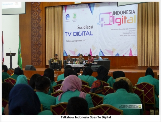 Kominfo Disseminate Migration of Analog to Digital Technology