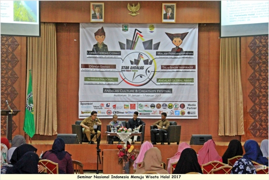 BEM KM Unand Discuss Halal Tourism 2017